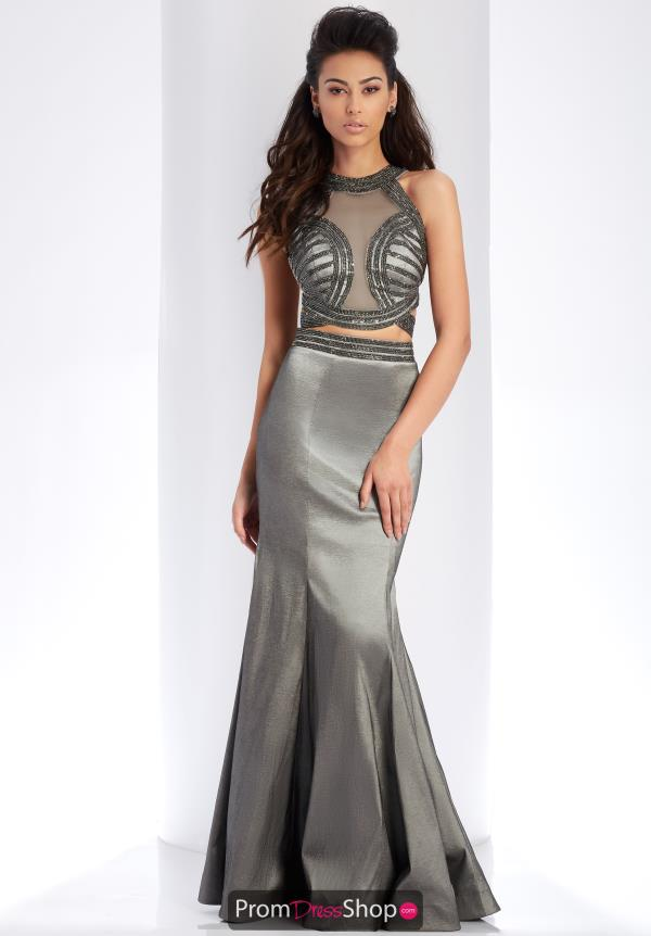 Clarisse Two Piece Beaded Dress 3410