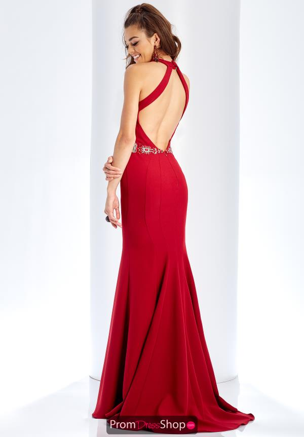 Clarisse Open Back Fitted Dress 3417