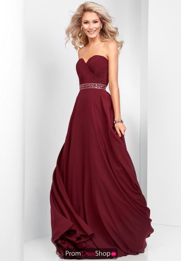 Clarisse Strapless A Line Dress 3428