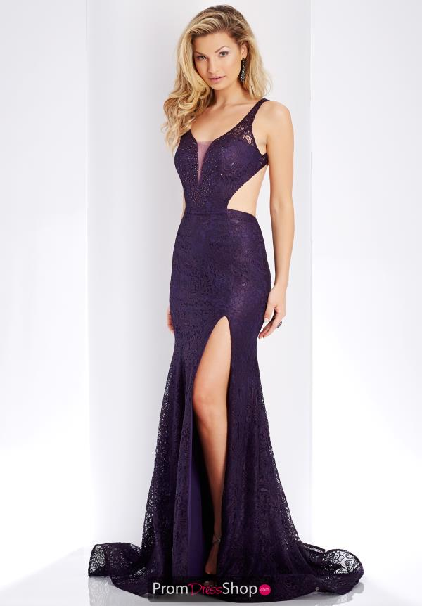 Clarisse V- Neckline Long Dress 3448