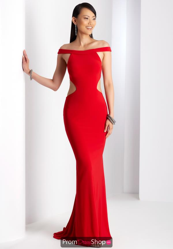 Clarisse Long Fitted Dress 3457