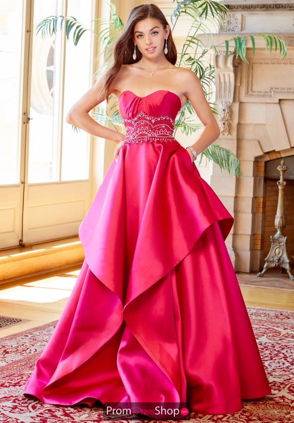 Clarisse Sweetheart Neckline A Line Dress 3478