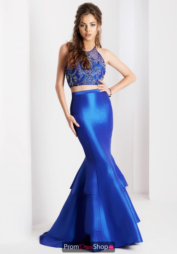 Clarisse Two Piece Beaded Dress 3488