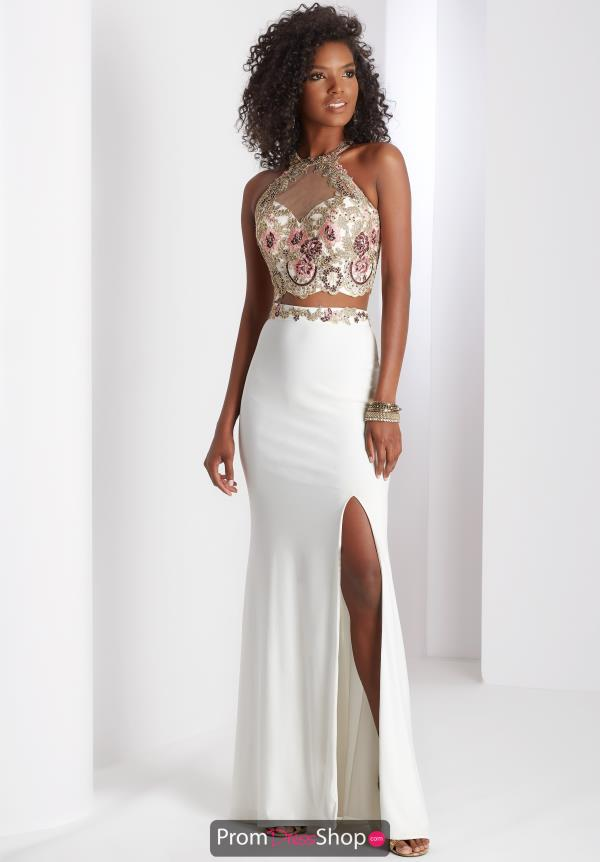 Clarisse Beaded Two Piece Dress 3536