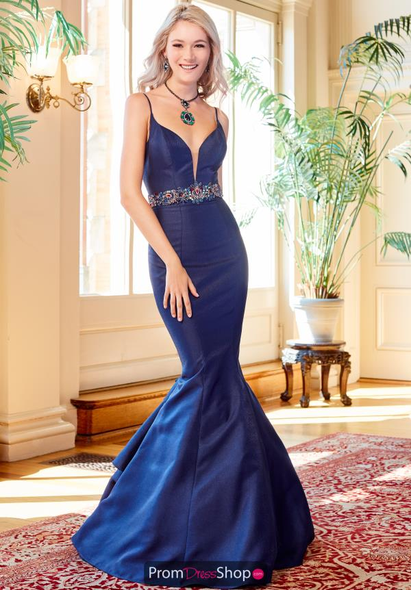 Clarisse Long Fitted Dress 4922
