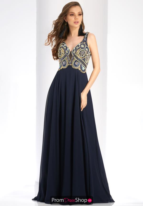 Clarisse Long Beaded Dress 4924