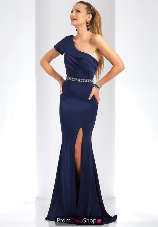 Clarisse One Shoulder Fitted Dress 4929