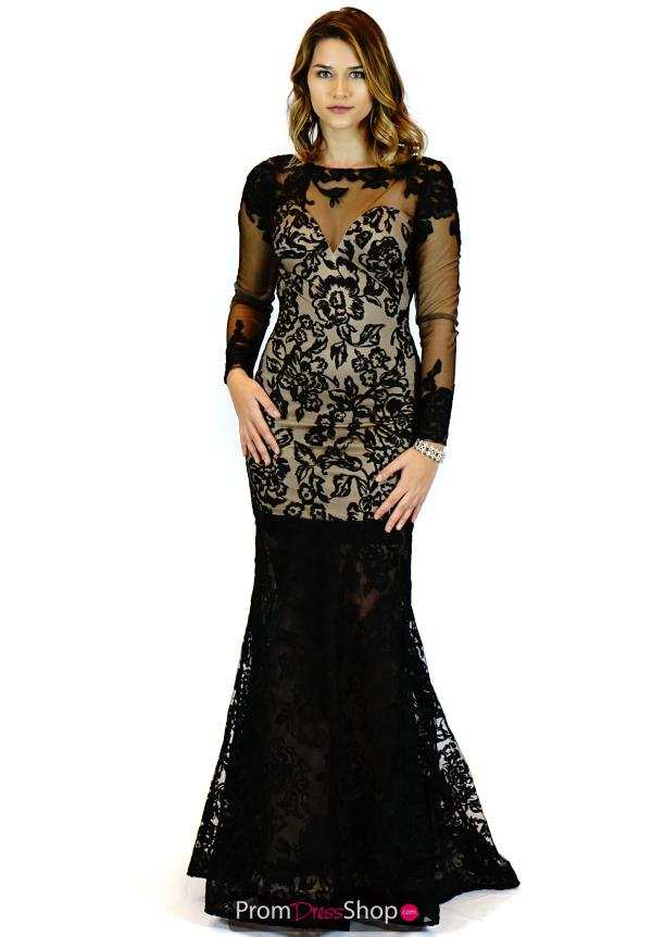 Zoey Grey Fitted Lace Dress 30819