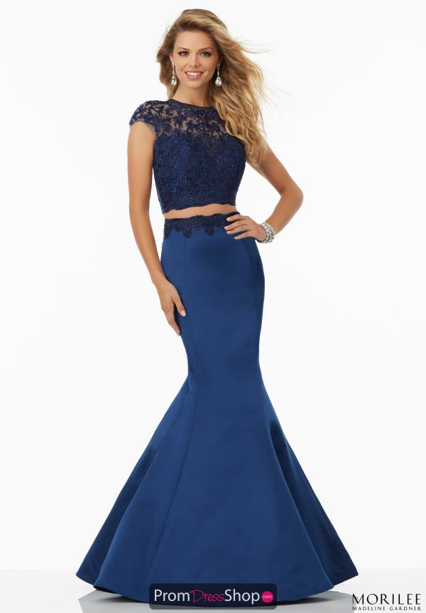 Mori Lee Two Piece Mermaid Dress 99080