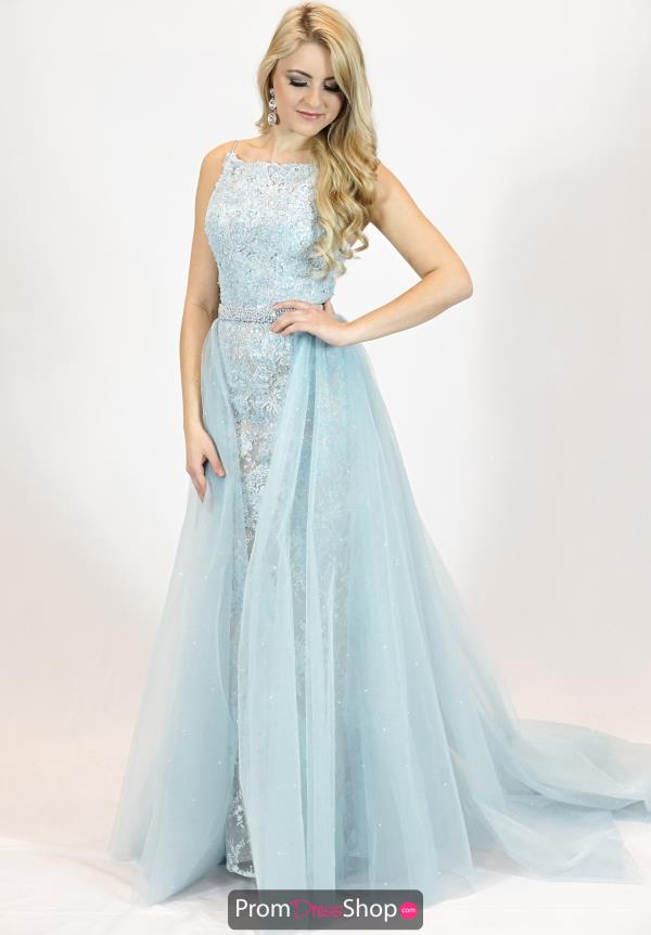 Sherri Hill Lace Fitted Dress 51602