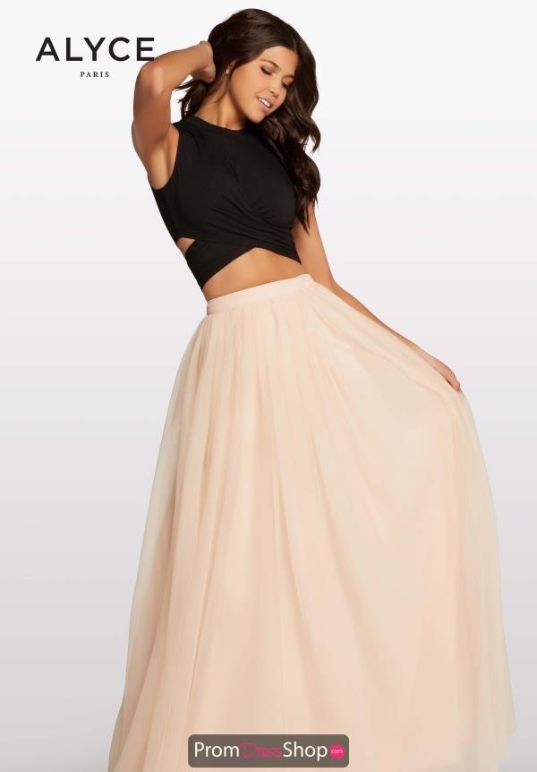 Kalani Hilliker Long Two Piece Dress KP117