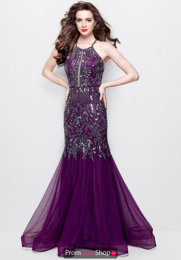 Primavera Long Fitted Dress 3004