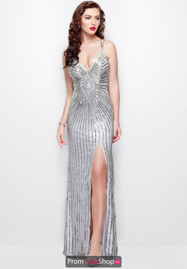 Primavera V- Neckline Sequins Dress 3010
