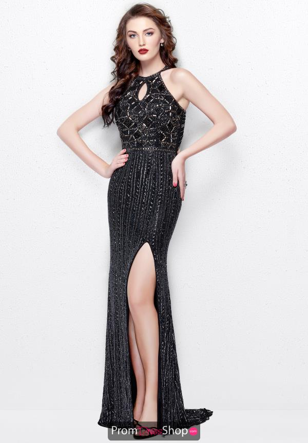 Primavera Long Sequins Dress 3013