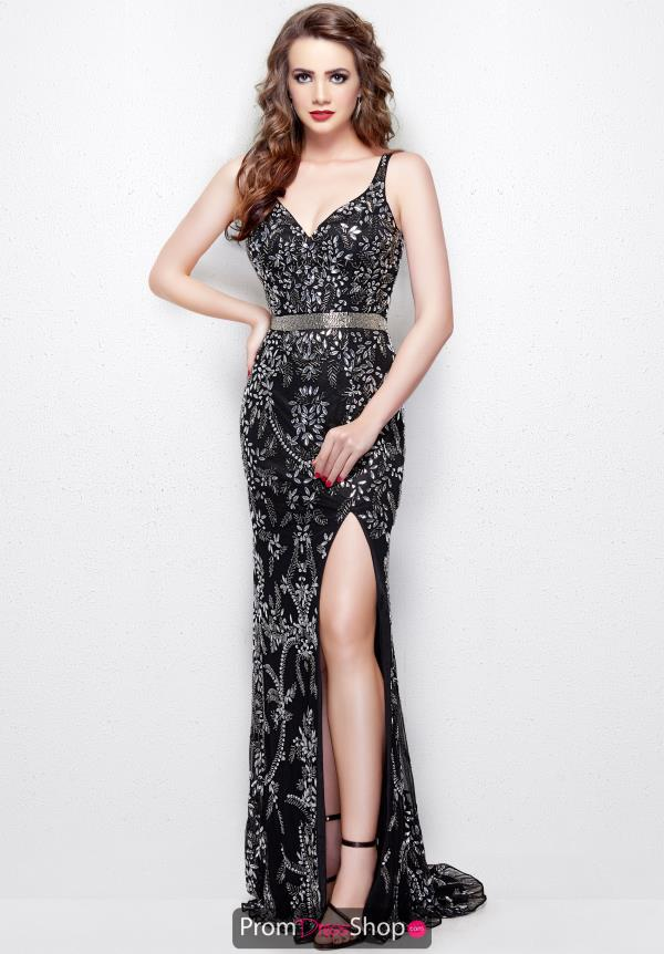 Primavera Long Fitted Dress 3019