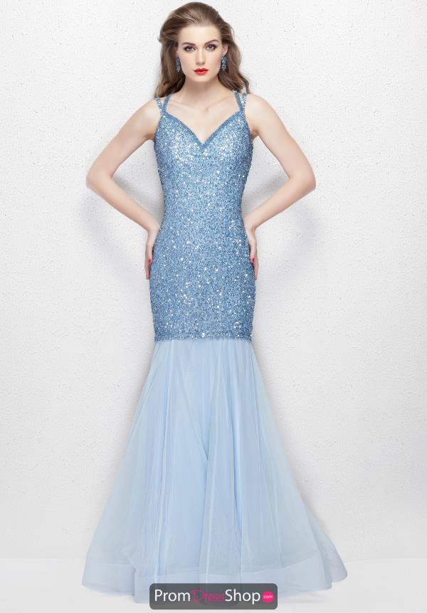 Primavera Long Beaded Dress 3039