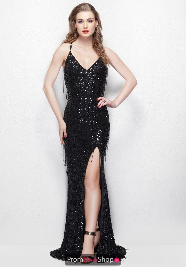 Primavera Long Beaded Dress 3053