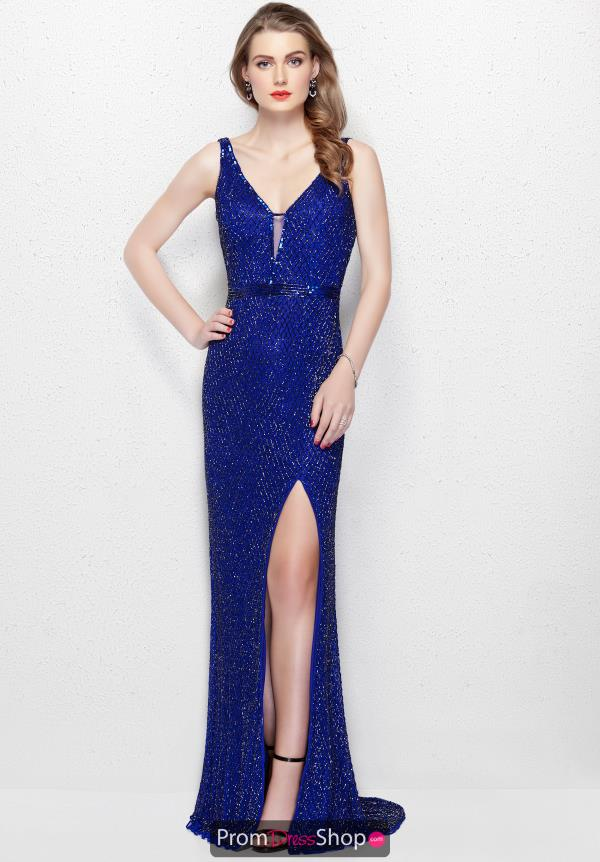 Primavera Long Fitted Dress 3056