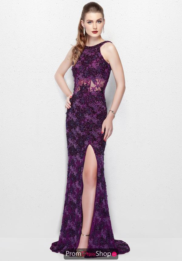 Primavera Long Beaded Dress 3062