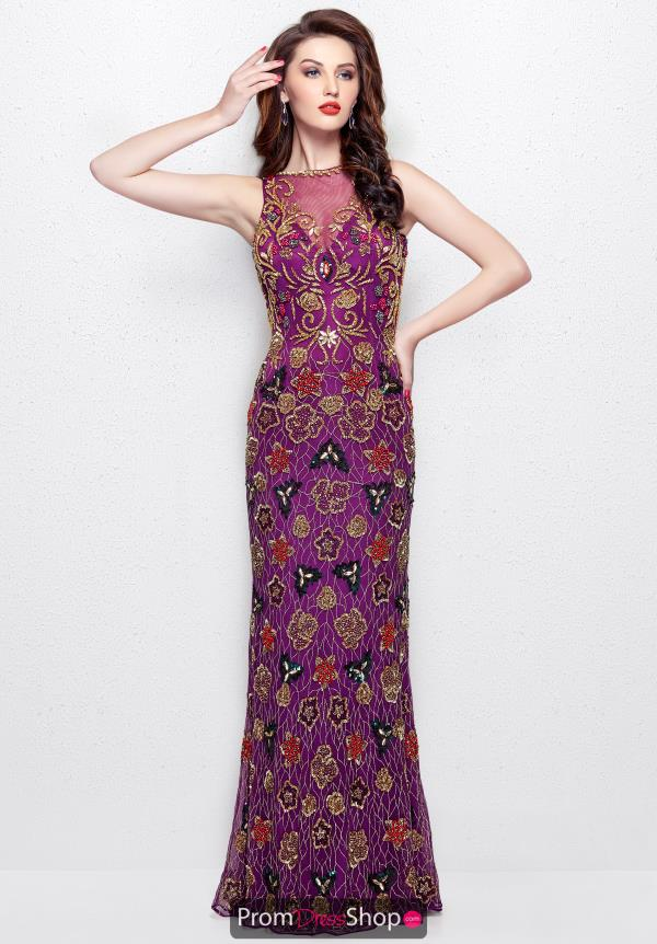 Primavera Long Beaded Dress 3067