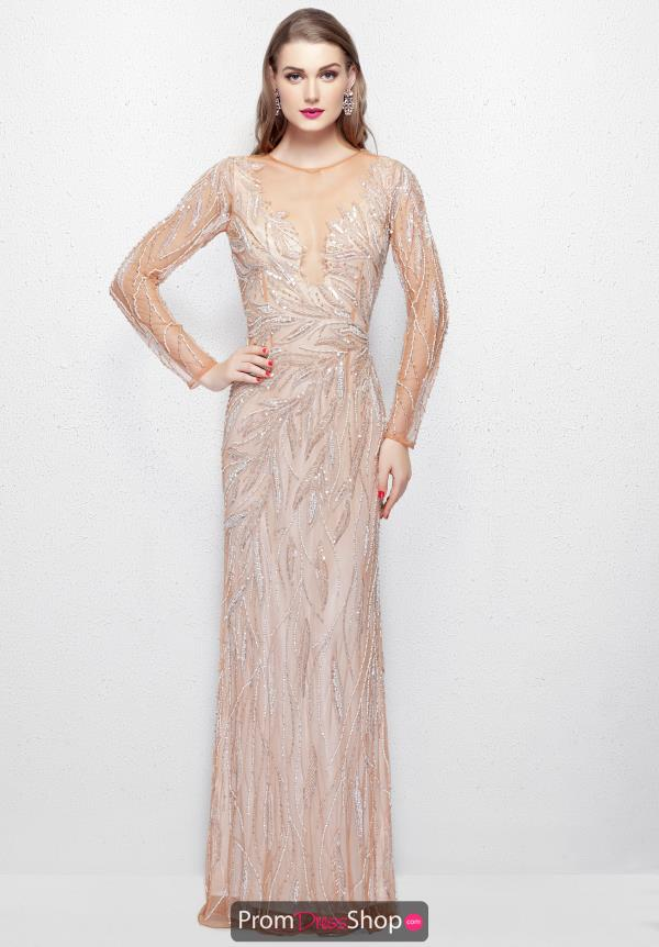 Primavera Fitted Sequins Dress 3082