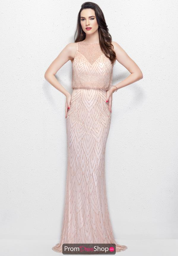 Primavera Long Beaded Dress 1272