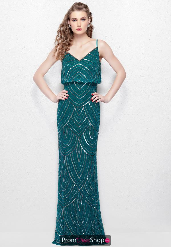 Primavera Fitted Sequins Dress 1274