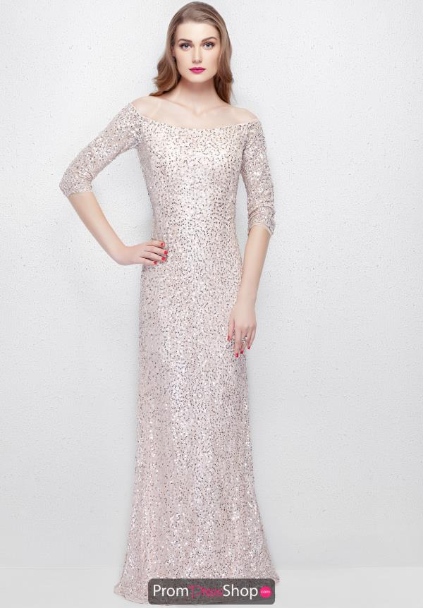 Primavera Long Fitted Dress 1275