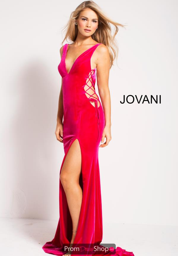 Jovani Long Velvet Dress 55625