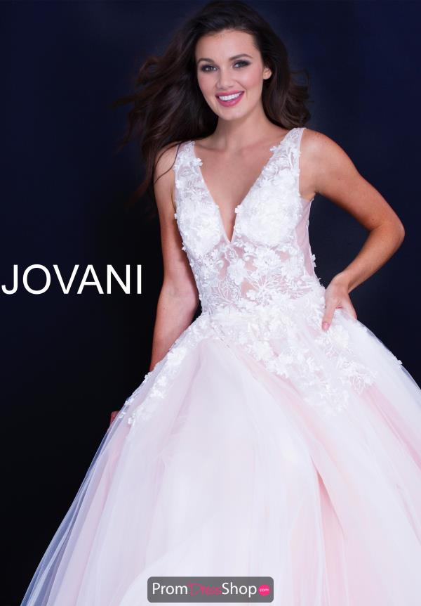 Jovani Long Lace Dress 55634