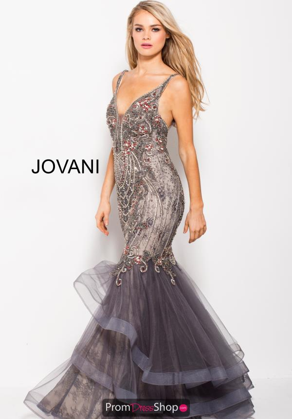 Jovani Beaded Mermaid Dress 55939
