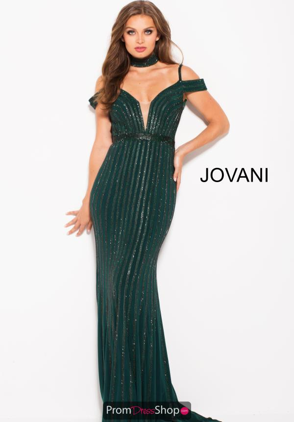 Jovani Long Beaded Dress 56004