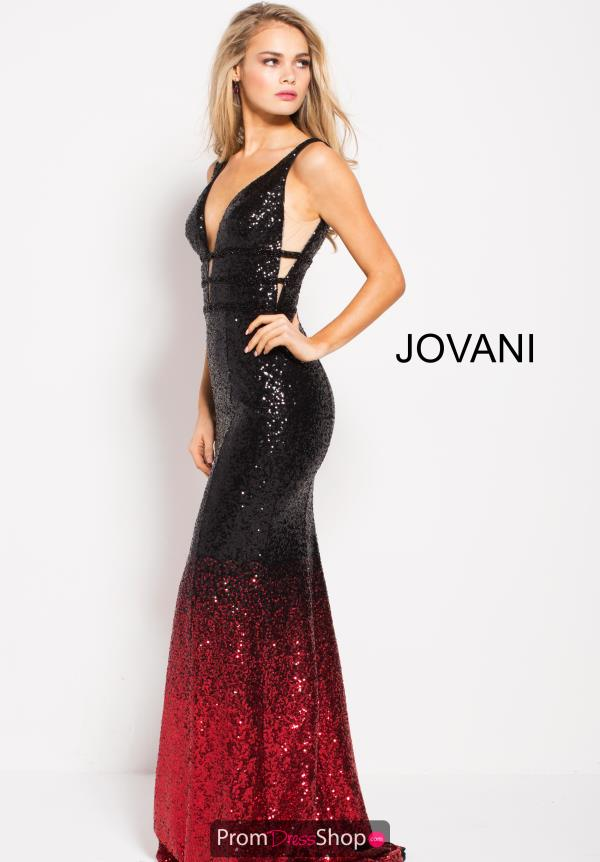 Jovani Sexy Fitted Dress 56015