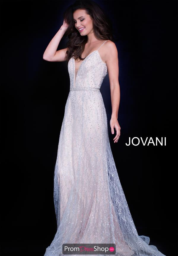 Jovani Lace A Line Dress 56050