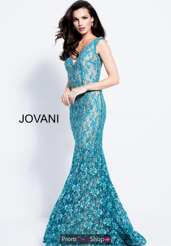 Jovani Long Fitted Dress 57046