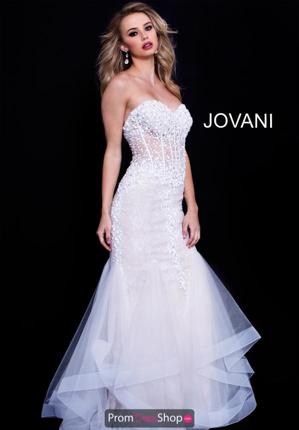 Jovani Fitted Mermaid Dress 57428