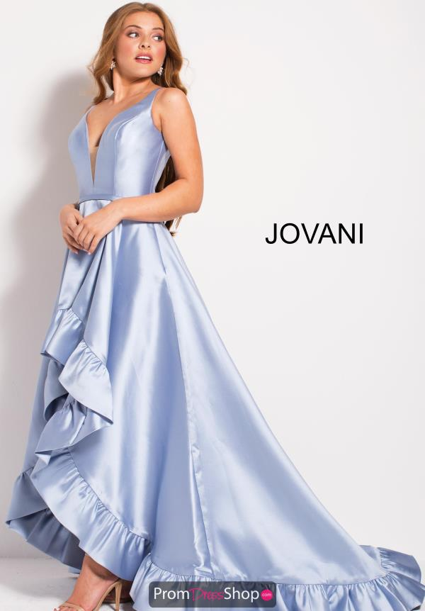 Jovani V- Neckline A Line Dress 57491