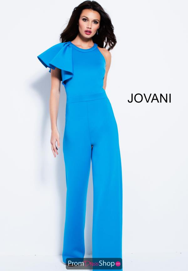 Jovani One Shoulder Jump Suit 57580