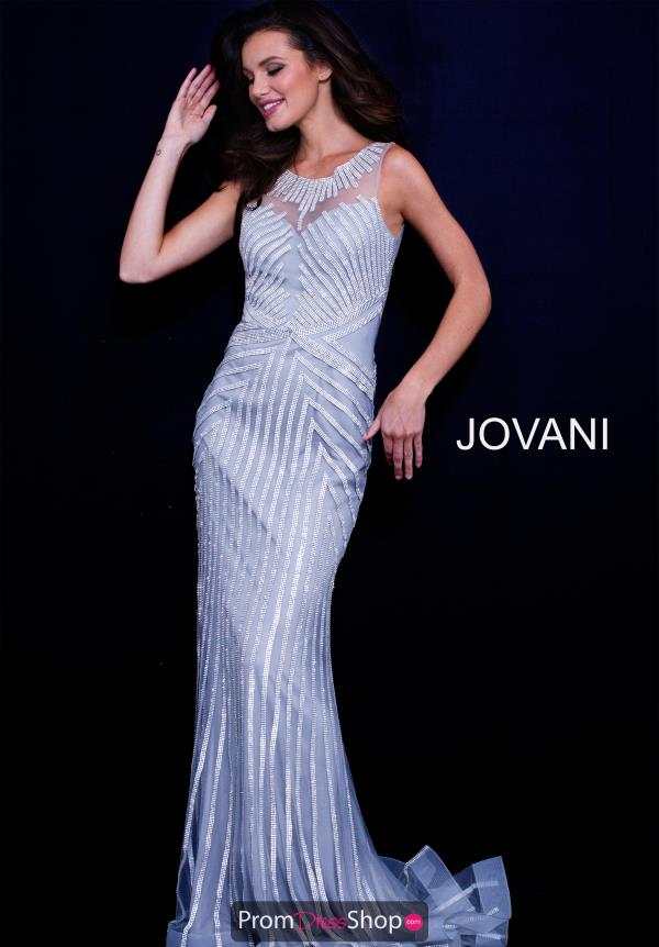Jovani Long Fitted Dress 58150