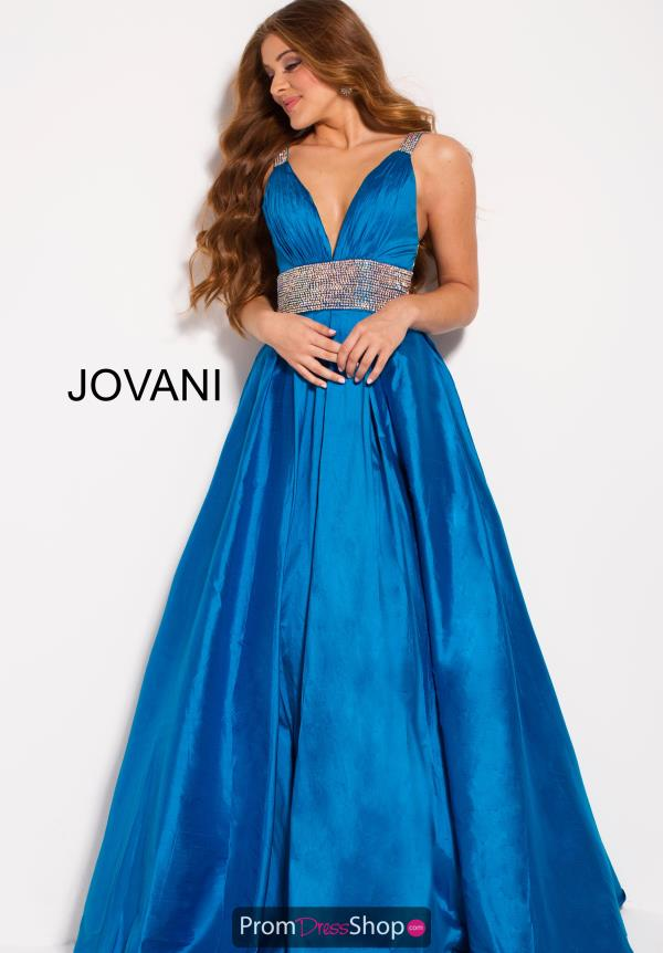 Jovani V- Neckline A Line Dress 58600