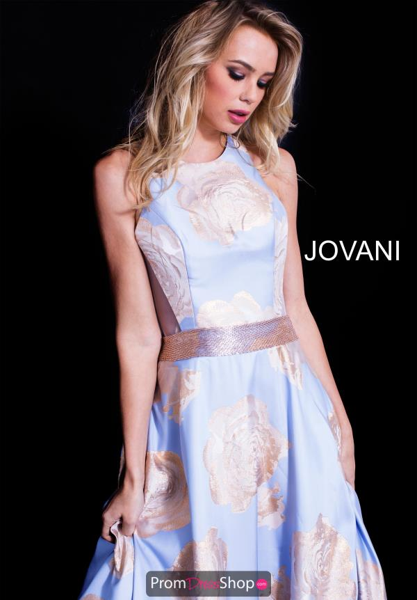 Jovani Long Print Dress 58672