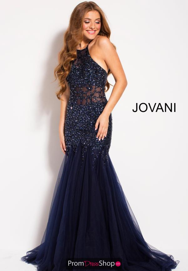 Jovani Beaded Mermaid Dress 59173