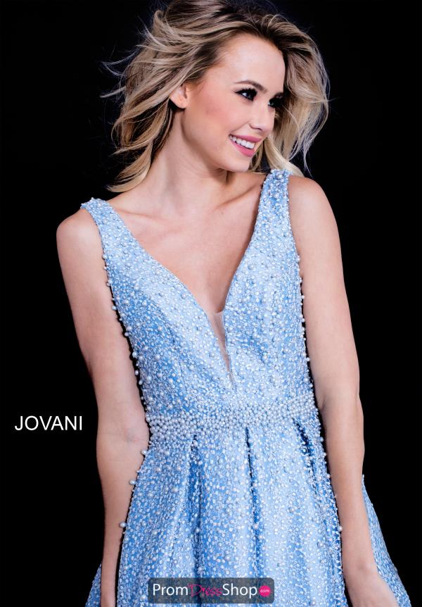 Jovani V- Neckline A Line Dress 59264