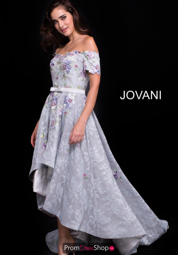 Jovani High Low A Line Dress 59321