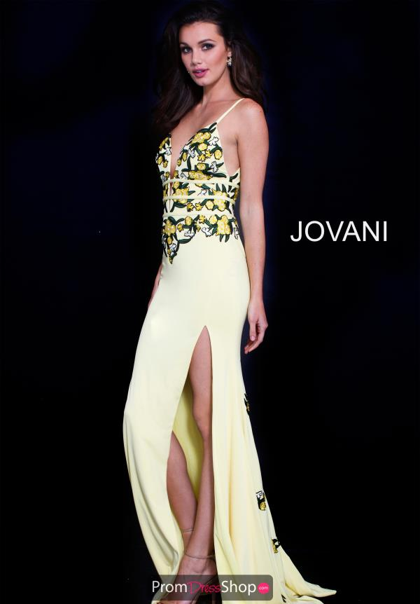 Jovani Long Fitted Dress 59594