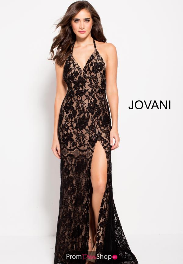 Jovani Long Black Dress 59595