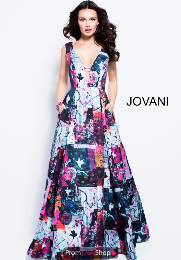 Jovani Long A Line Dress 59802