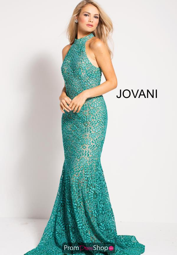 Jovani Fitted Lace Dress 59908