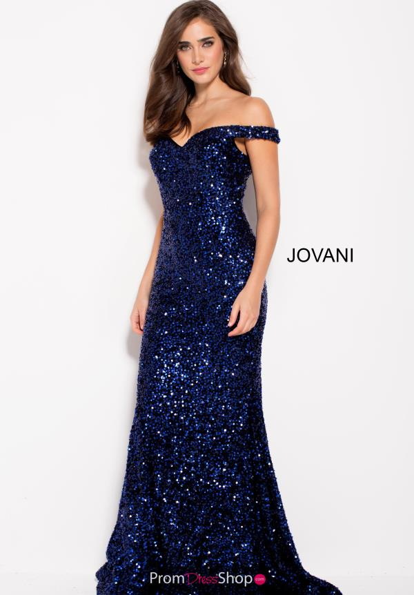 Jovani Long Sequins Dress 60003