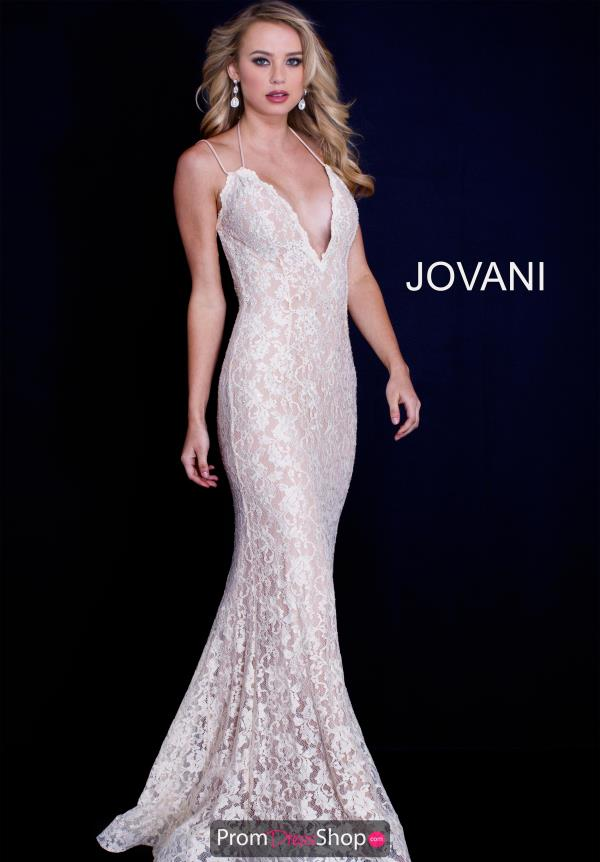 Jovani Lace Fitted Dress 60367